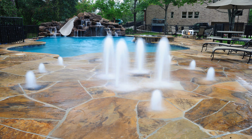 backyard splash pads