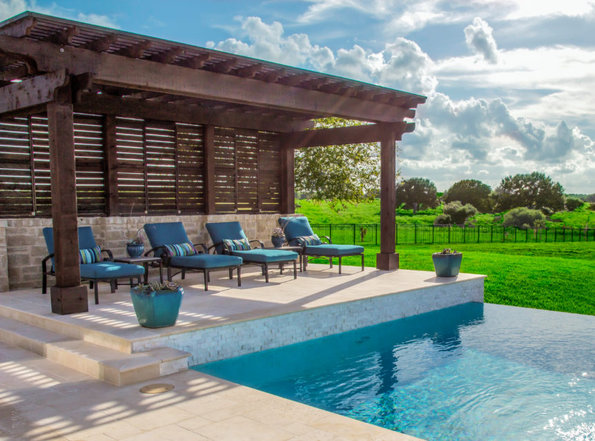 Pool Party Pergola Decorating Ideas
