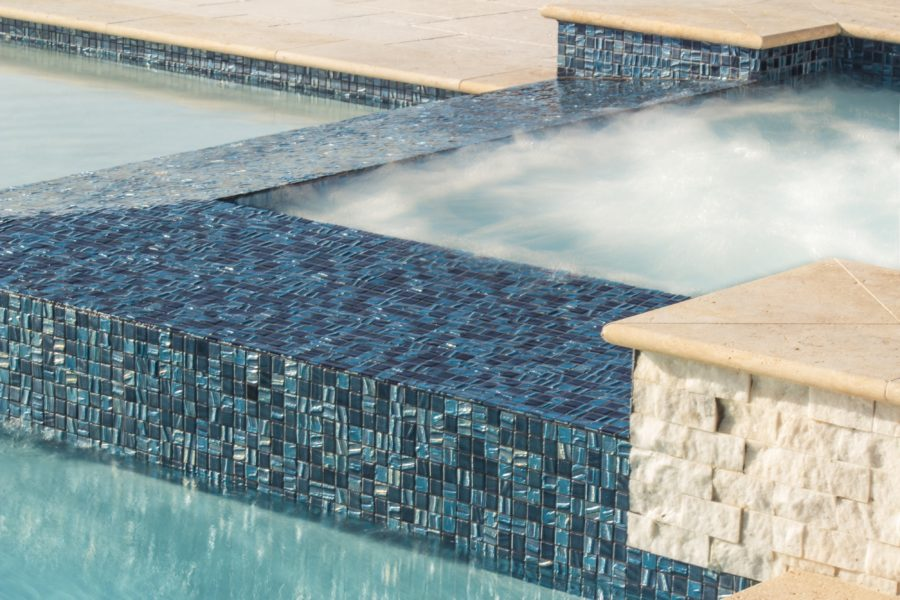 Glass Tile Waterline Tile