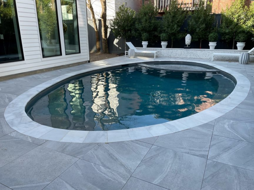 Small Plunge Pool With Spa